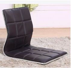 109.00$ Buy now - http://ali2fh.shopchina.info/go.php?t=32260387393 - (4pcs/lot ) Living Room Furniture Floor Seating Chair Brown color Japanese Floor Seating Tatami Zaisu Legless Leather Chair 109.00$ #aliexpress