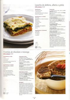 Revista bimby pt-s01-0016 - setembro 2010 Kitchen Reviews, Multicooker, Portuguese Recipes, Secret Recipe, Chocolate, Food Hacks, I Foods, Pasta Recipes, Cooking Tips