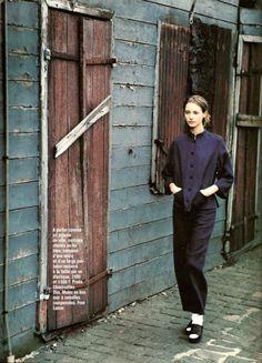 MAO is back  Mikael Jansson Vogue Paris 1994