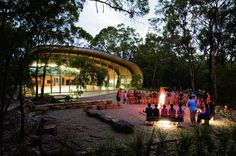 Curvy Canoe-Inspired Milson Island Indoor Sports Stadium Offer...