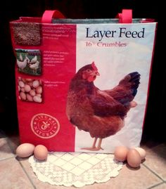 Fresh Eggs Daily: DIY Make your own Feed Bag Market Tote Tutorial