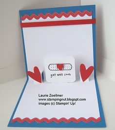 Laurie's Stampin' Spot - Wellness Wishes Pop-Up Card