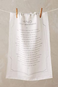 Mind Your Manners Di