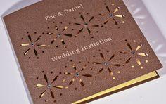 Splendour - Wedding Stationery Collection. laser cut wedding invitation