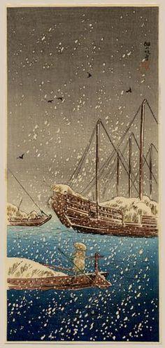Thumbnail of Original Japanese Woodblock Print by Shotei, Takahashi
