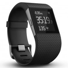 Fitbit Surge Fitness Superwatch - cool gift idea for men! Does the man in your life like to keep fit or would like to amp up his fitness routine? This sleek watch is a GPS watch, fitness tracker and heart rate monitor Ww Online, Best Fitness Watch, Fitness Armband, Fitness Wristband, Best Fitness Tracker, Fitness Goals, Cardio Fitness, Fitness Sport, Fitness Style