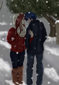 Erza x Jellal Fairy Tail Levy, Natsu Fairy Tail, Fairy Tail Ships, Fairy Tail Anime, Natsu And Lisanna, Gruvia, Fairy Tail Family, Fairy Tail Couples, Fairy Tail Quotes