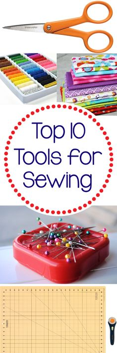 May Sew Crazy Challenge  Top 10 Things Every Sewist Needs - Crazy Little Projects