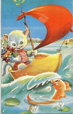 zeilboot 1961