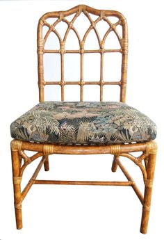 Pair of Vintage Faux Bamboo McGuire Chairs | Furniture ...