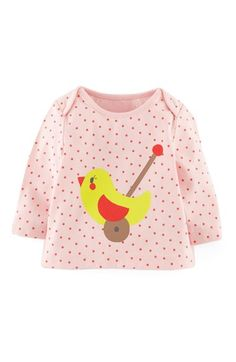 Mini Boden 'Sweet Dotty' Graphic Tee (Baby Girls) | Nordstrom