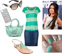 """Teal Outfit"" by rachelstidd on Polyvore - Apostolic Clothing Pentecostal"