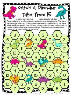 FREEBIE - Subtraction Board Games Freebie by Games 4 Learning contains 2 Printable Subtraction Board Games. Fun Classroom Activities, Math Classroom, Kindergarten Math, Fun Math, Numeracy Activities, Maths Resources, Teaching Subtraction, Subtraction Games, Teaching Math