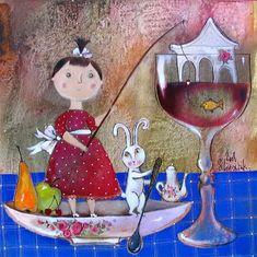 Доброта и трогательность в картинах Анны Силивончик - Ярмарка Мастеров - ручная работа, handmade