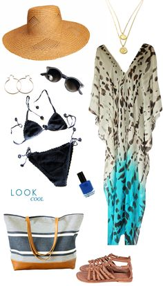 A beach-worthy look from House of Earnest.
