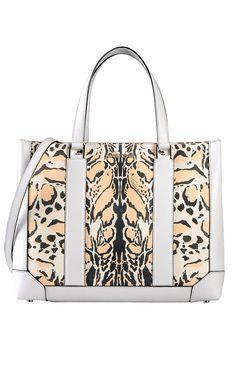 RobertoCavalli SS 2013 tote bag in animal print. Big Bags 23390a48ffc9a