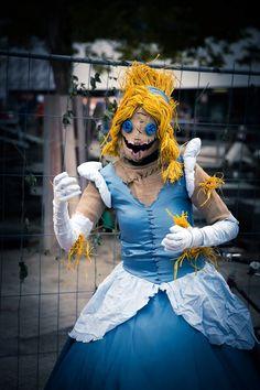 Twisted Cinderella #cinderella #disney #cosplay #scarecrow