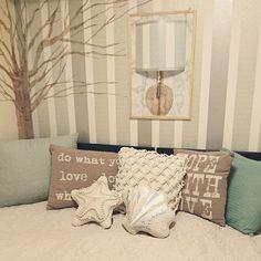 Bedroom/ダイソー/マスキングテープ/フランフラン/ストライプ/マステ...などのインテリア実例 - 2018-04-15 13:48:59   RoomClip (ルームクリップ)