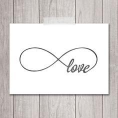 Infinity Love Print - 5x7