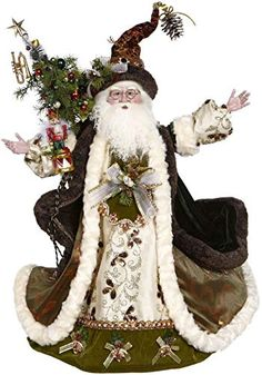 Make a grand Christmas display with this enchanting Vintage Forest Santa designed by artist Mark Roberts. Christmas Gifts For Women, Father Christmas, Retro Christmas, Christmas Art, Christmas Greetings, Beautiful Christmas, Christmas Ornaments, Christmas Ideas, Christmas China
