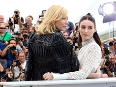 18 Times Carol's Cate Blanchett and Rooney Mara Were Adorable Together In Real Life | SheWired