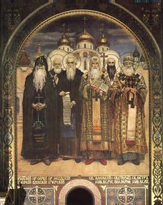 Russian Bishops - Viktor Vasnetsov
