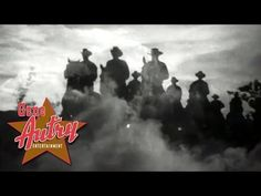"""Singing Cowboy Gene Autry sings the Western Classic song """"Ghost Riders in the Sky"""" from his movie """"Riders in the Sky"""" from Columbia Pictures 1949. © Autry Qu..."""