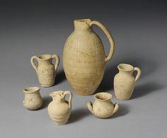 Terracotta oinochoe (jug) | Etruscan | Hellenistic | The Met