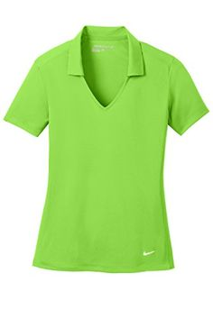 Nike Golf Ladies Dri-FIT Vertical Mesh Polo >>> Details can be found by clicking on the image.