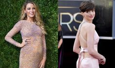 Blake Lively and Anne Hathaway sound off on their body's post-birth