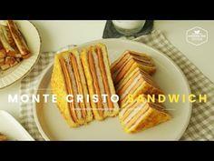 단면이 예쁜♥ 몬테크리스토 샌드위치 만들기 : How to make Monte Cristo Sandwich : モンテクリストサンドイッチ -Cookingtree쿠킹트리 - YouTube