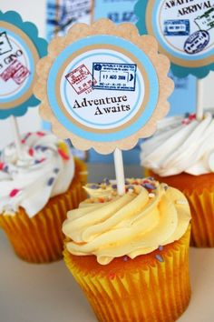 1000+ images about Travel Themed Cupcakes on Pinterest ...