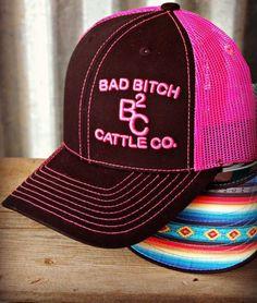 Bad B Cap ~ Pink