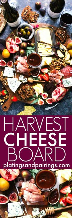 How to Create the Perfect Fall Harvest Cheese Board | platingsandpairings.com