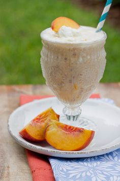 Peach Milkshakes - One of my most memorable road trips involved a beautiful woman, 90-deg. heat and hand-made peach milkshakes. Nothing will ever come close.
