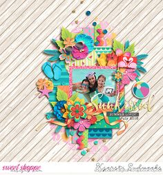 Credits: A Summer Story: COLLECTION by Studio Flergs  Eudora Designs Template Layout by Kjersti Sudweeks