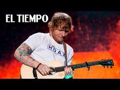 En Bogotá, Ed Sheeran le cantó a uno de sus mejores públicos - YouTube