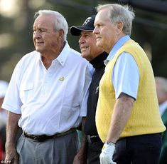 The Masters .... Arnold Palmer, Gary Player& Jack Nicklaus
