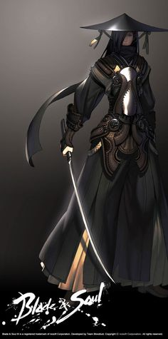 Blade and Soul concept art by Hyung-tae Kim.