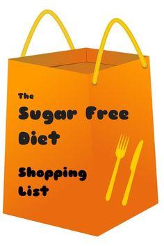 The Sugar Free Diet Shopping list