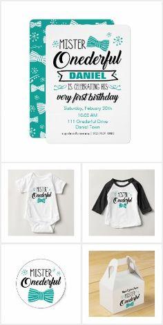 Mister ONEderful First Birthday