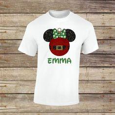 Personalized Minnie Christmas Ornament Shirt