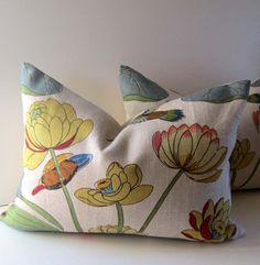 pillow for a pop of color<3