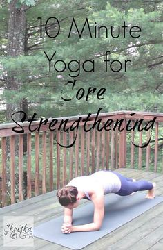 ChriskaYoga | Core Strengthening Yoga