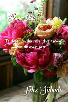 Happy Week, Happy Saturday, Planting Flowers, Good Morning, Qoutes, Table Decorations, Rose, Plants, Good Morning Quotes
