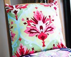 Tutorial - an envelope back cushion cover