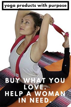 I LOVE this yoga strap. Check it out on Amazon https://www.amazon.com/Stretching-Increasing-Flexibility-Compression-Restorative/dp/B01AHD26DS Yoginiology Yoga Straps are the made of the highest quality material, as comfortable as it is durable.Each purchase supports initiatives with Women for Women International. Buy Your Yoga Strap Now!