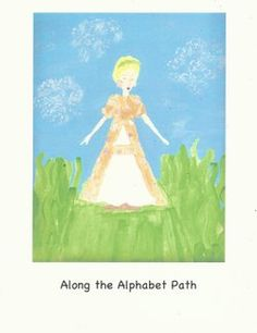 Along the Alphabet Path... preschool curriculum including stories to download, book lists, and creative ideas ~ Elizabeth Foss, Serendipity