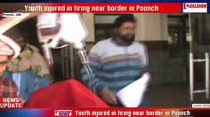 Youth injured in firing near border in Poonch