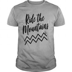 Ride the Mountains T-Shirts